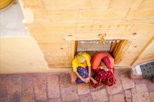 Wandbild Indische Frauen