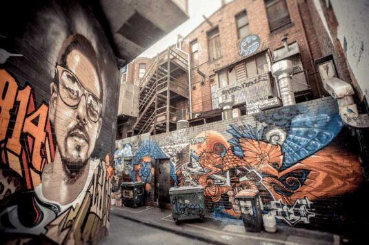 Wandbild Melbourne