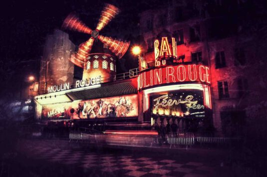Wandbild Moulin Rouge