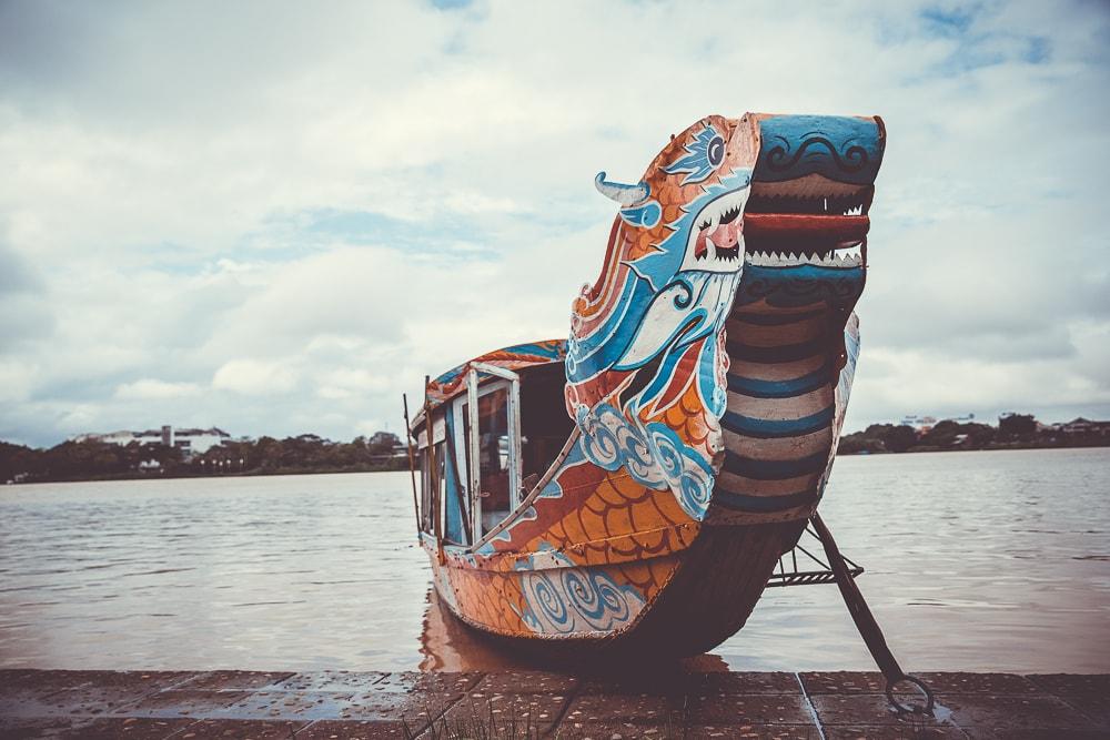 Drachenboot in Vietnam