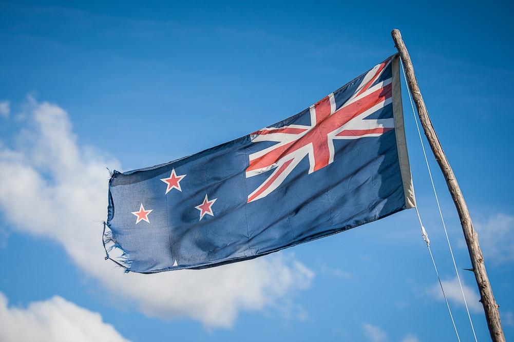 Reiseblog Neuseeland, Neuseeland Flagge