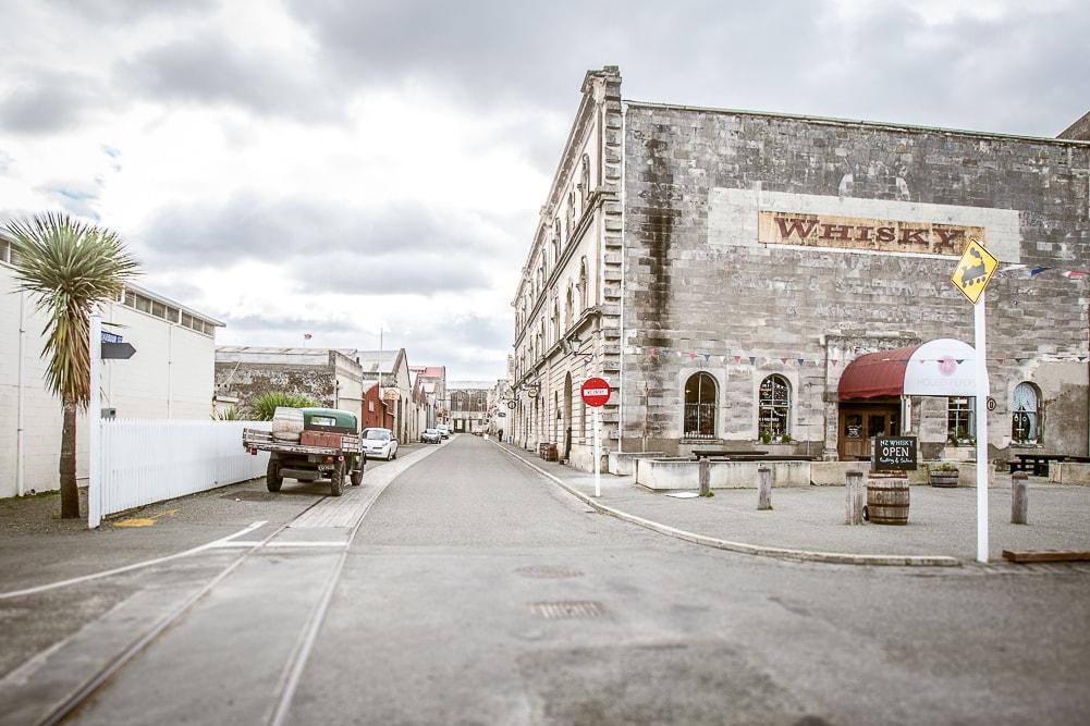 Reiseblog Neuseeland, Oamaru, Whiskey Fabrik