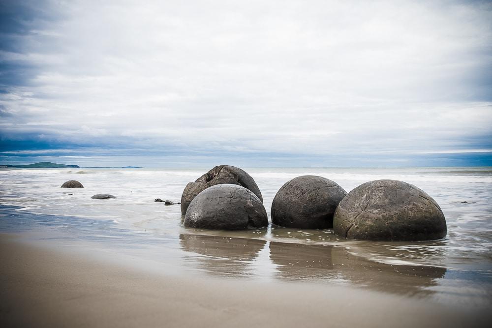 Reiseblog Neuseeland, Moureki Boulder