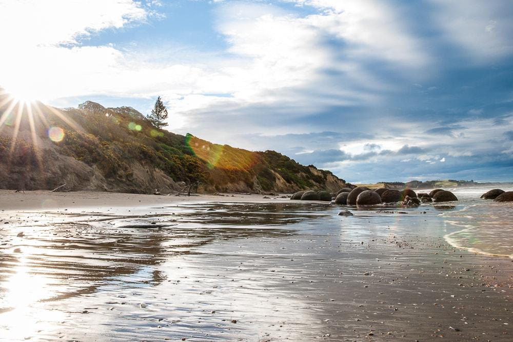 Reiseblog Neuseeland, Moeraki Boulders