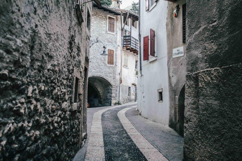 Seitenstraße in Arco