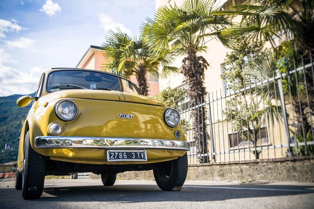 alter gleber Fiat 500
