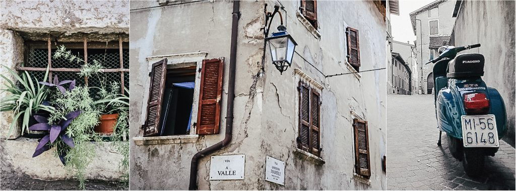 alte Straße in Arco