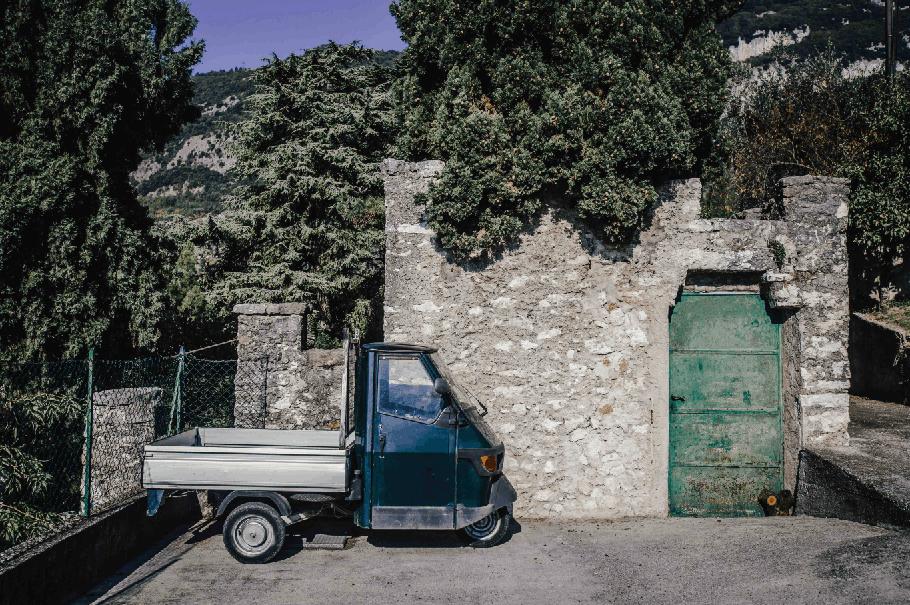 Italienisches Kult Dreirad wird 70!