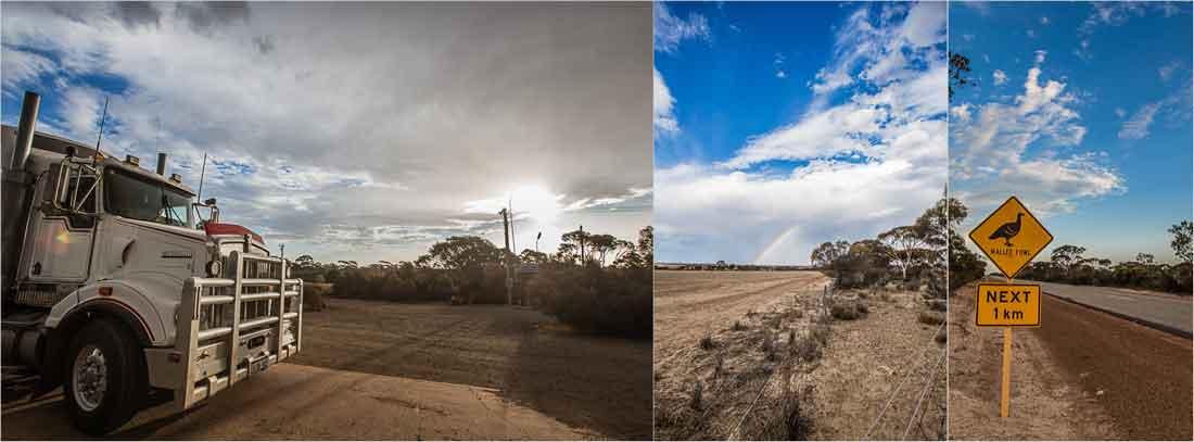 Australisches Outback in Bildern