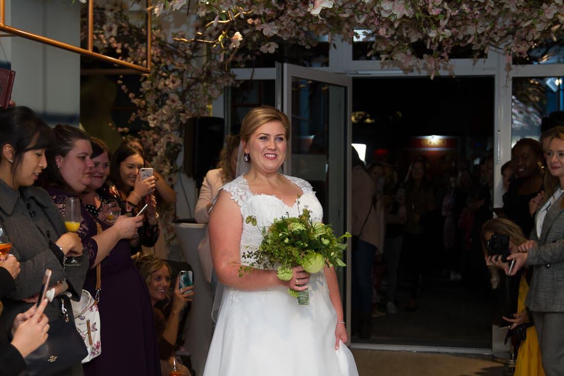 Brautmodenschau bei White Silhouette