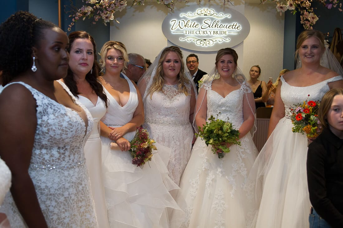 6 Bräute bei White Silhouette the curvy bride