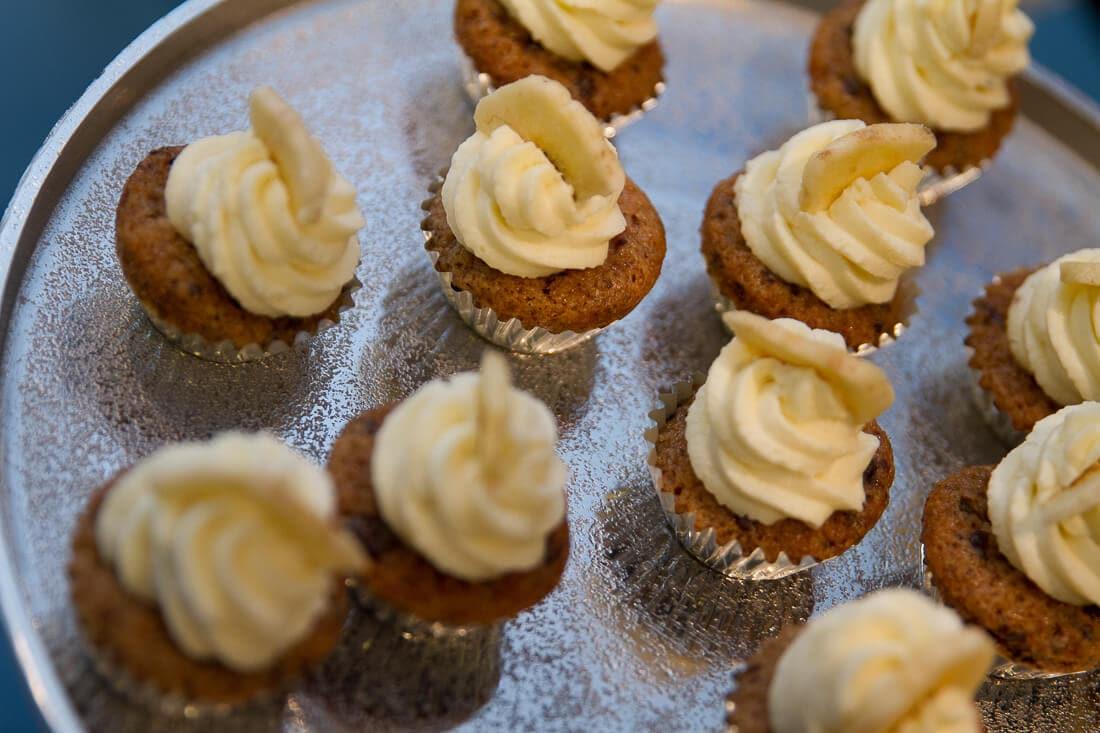 Mini Cupcakes mit Banane