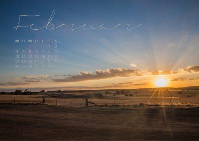 Kalender 2020 Australien - Februar