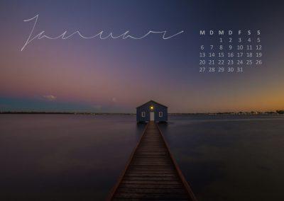 Kalender 2020 Australien - Januar