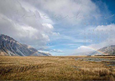 Kalender Neuseeland Monat November
