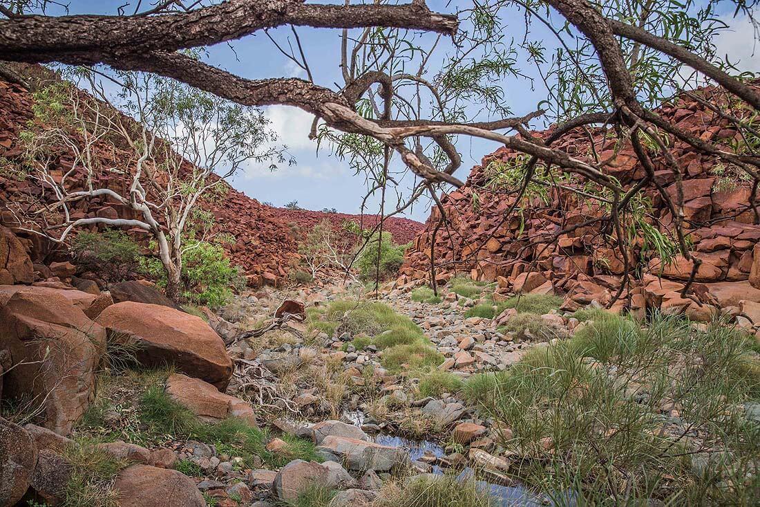 Nationalpark in West Australien Deep Gorge