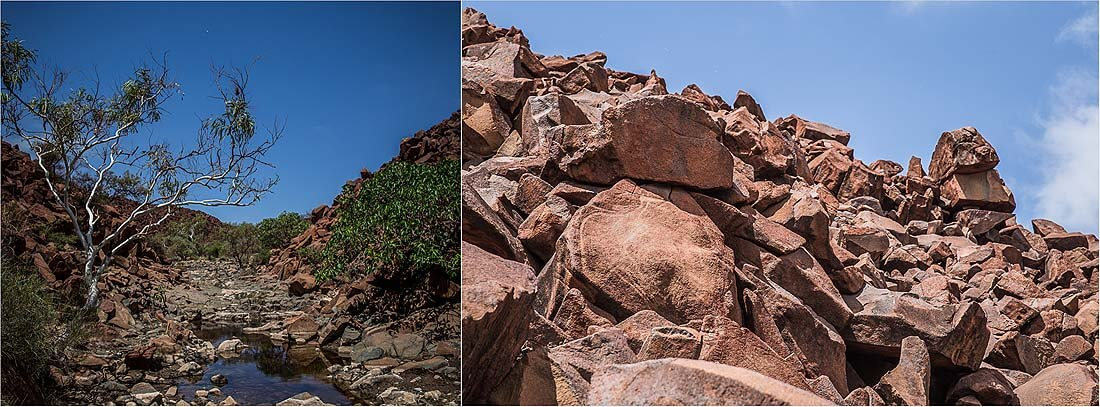 Murujuga-Nationalpark Felsmalereien Karratha