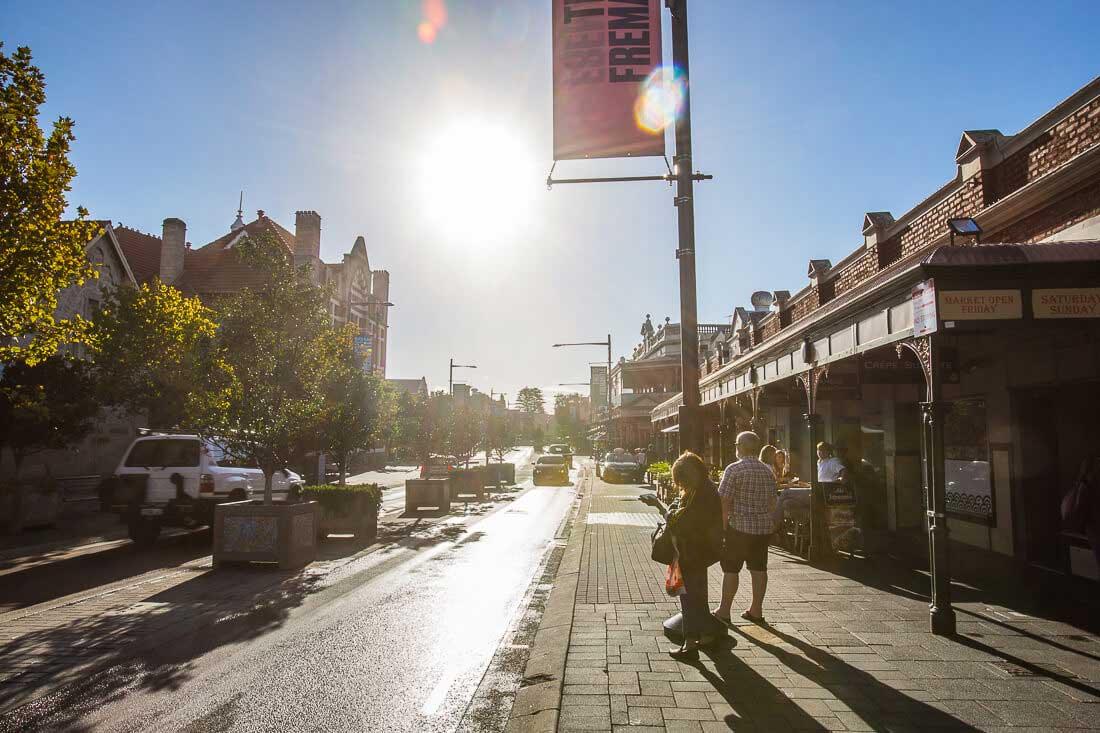 Fremantle Perth Australien