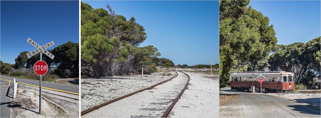 Rail Way auf Rottnest Island
