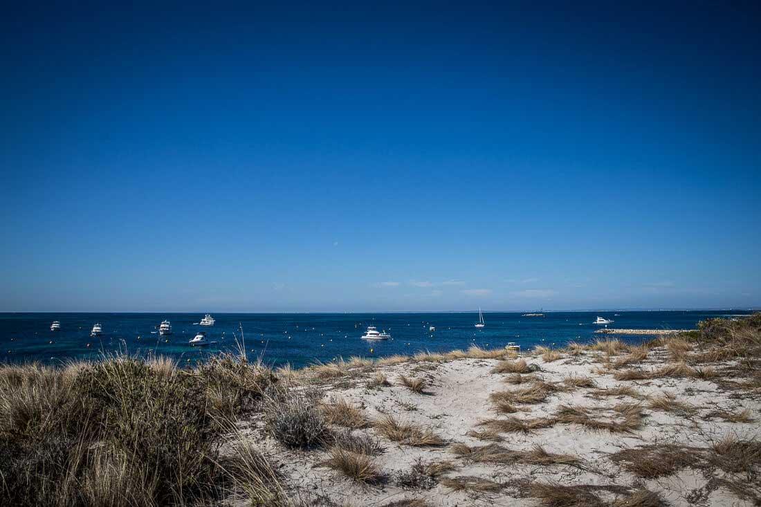 Sanddüne von Rottnest Island