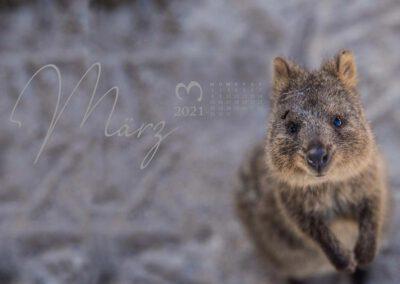Kalender 2021 Australien März