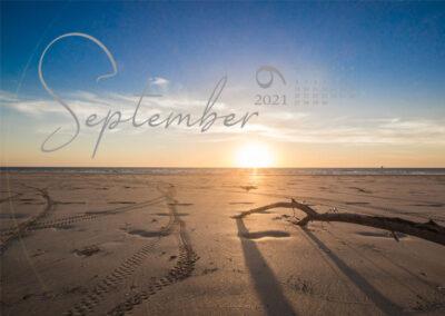 Kalender 2021 Australien September